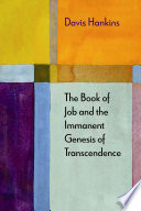 The Book of Job and the Immanent Genesis of Transcendence