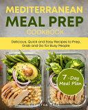 Mediterranean Meal Prep Cookbook