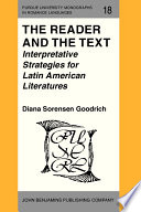 The Reader and the Text