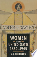 Women in the United States  1830 1945