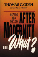 After Modernity   What