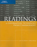 Readings in Information Technology Project Management Book