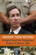 Answer Them Nothing [Pdf/ePub] eBook
