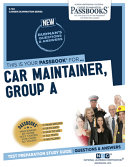 Car Maintainer  Group a
