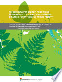 Achieving Water Energy Food Nexus Sustainability  A Science and Data Need or a Need for Integrated Public Policy  Book
