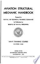 Aviation Structural Mechanic Handbook