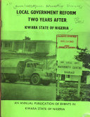 Local Government Reform Two Years After  Kwara State of Nigeria