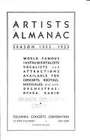 Artists Almanac  Season
