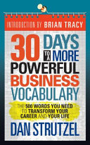 30 Days to a More Powerful Business Vocabulary