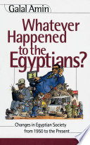 Whatever Happened to the Egyptians