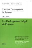Développement Inégal de L'Europe