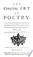The Complete Art Of Poetry Book