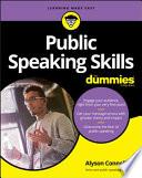 Public Speaking Skills For Dummies