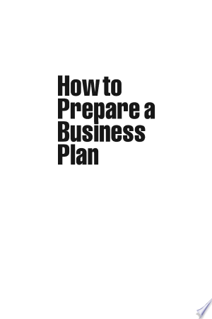 How+to+Prepare+a+Business+Plan