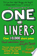 """""""The Mammoth Book of One-Liners"""" by Geoff Tibballs"""