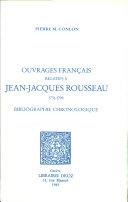 Ouvrages français relatifs à Jean-Jacques Rousseau