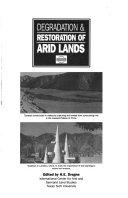 Degradation   Restoration of Arid Lands