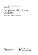 Computational Conformal Geometry