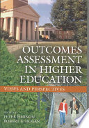 Outcomes Assessment in Higher Education