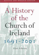 A History of the Church of Ireland  1691 2001