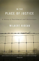 In the Place of Justice Book PDF
