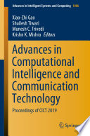 Advances In Computational Intelligence And Communication Technology Book PDF