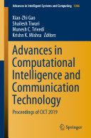 Advances in Computational Intelligence and Communication Technology