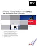 Addressing Emerging Threats And Targeted Attacks With Ibm Security Network Protection Book PDF
