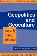 Geopolitics and Geoculture
