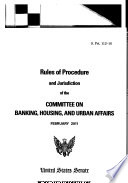 Rules of Procedure and Jurisdiction..., S. Prt. 112-16, February 2011