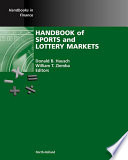 Handbook Of Sports And Lottery Markets Book PDF