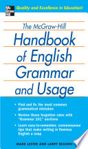 The McGraw Hill Handbook of English Grammar and Usage