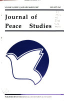 Journal of Peace Studies