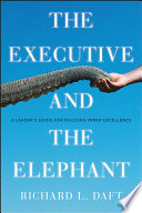 The Executive and the Elephant Book