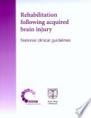 Rehabilitation Following Acquired Brain Injury Book