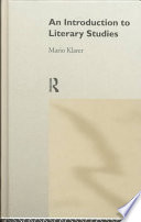 An Introduction to Literary Studies Book