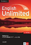 English Unlimited A1 - Starter. Coursebook with E-Portfolio DVD-ROM + 2 Audio-CDs