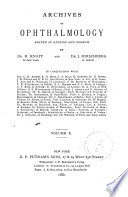 Archives of Ophthalmology Book