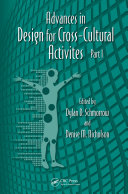 Advances in Design for Cross-Cultural Activities