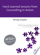 Hard Earned Lessons from Counselling in Action