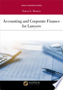 Accounting and Corporate Finance for Lawyers