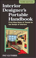 Interior Designer S Portable Handbook First Step Rules Of Thumb For The Design Of Interiors Book PDF