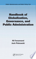 Handbook of Globalization  Governance  and Public Administration