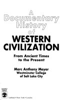 A Documentary History of Western Civilization Book PDF