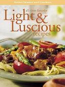 Light & Luscious Recipes