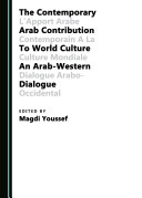 The Contemporary Arab Contribution to World Culture