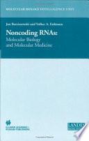 Non Coding RNAs Book