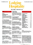 Lodging Hospitality Book