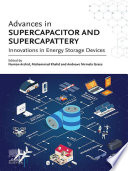 Advances In Supercapacitor And Supercapattery Book PDF