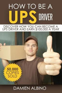 How to Be a Ups Driver